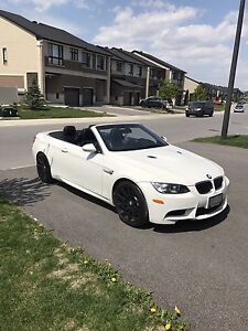 2010 BMW M3 hardtop convertible white!!!