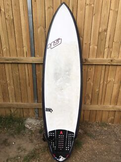 """Surfboard Repaired Hayden Shapes Shred Sled 6,4"""" (1100$ new board)"""