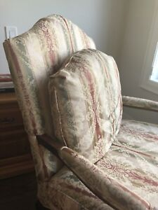 Two Bergere Chairs