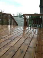 Professional paint and wood stain