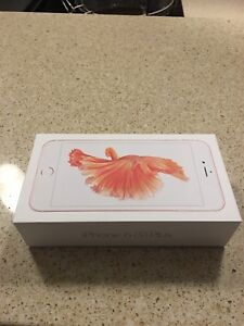 I phone 6s plus rose gold