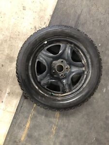 Firestone Winterforce snow tires 215/55/R17