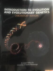 Introduction to evolution and evolutionary genetics