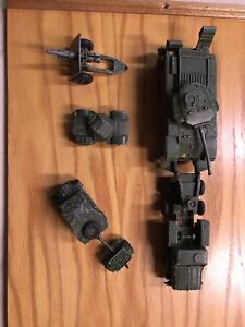 Antique Dinky army toys