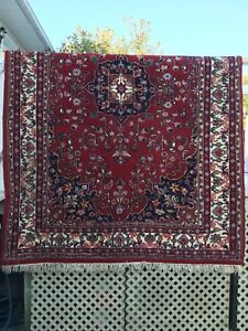 Persian carpet hand knotted