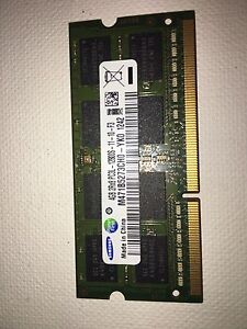 LAPTOP DDR3 and DDR2 RAM