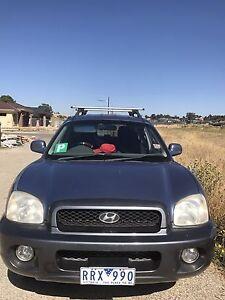 2002 Hyundai Santa Fe GLS 5 seater Coburg Moreland Area Preview