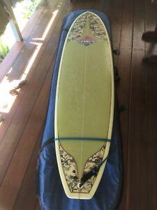 Mini Mal by 'MALIBU' Noosa , will trade for longboard