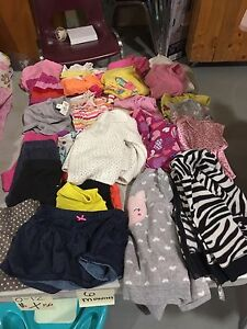 Bag of sz 6-12 month baby girl clothes