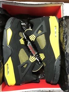 "DS Air Jordan 4 Retro ""Thunder"" Size 11"