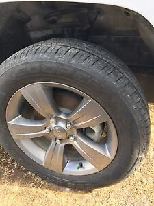 98% new...Jeep patriot 215/60R17 tires ,tire