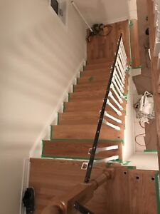 Flooring  stairs & best paint services