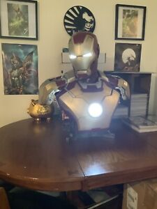 Sideshow Collectibles Ironman Mark 42 life size bust.