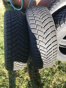 Winter tires discounted to sell