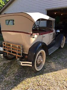 1929 Ford Model A Touring Car Fully Restored