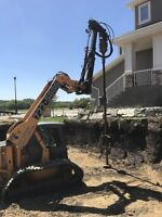 Screw Piles / Pile Drilling / Helical or Concrete Piles