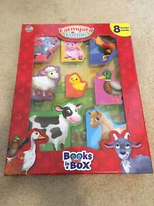 Farmyard Friends 8 mini books