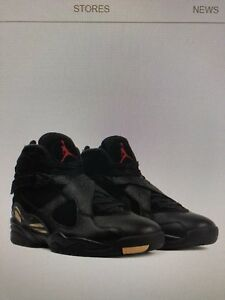 OVO Retro Air Jordan 8's - Size 9