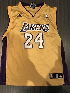 Adidas Kobe Bryant Los Angeles Lakers Youth Basketball Jersey