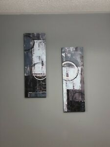 Wall Art Home Decor 2 Piece Canvas