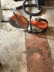 """Stihl 12"""" concrete saw"""