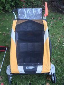 Thule Sport Chariot (Double) w/ jog, bike and ski accessories!
