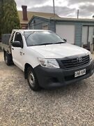 2013 Toyota Hilux Workmate Manual 4x2 Parafield Gardens Salisbury Area Preview