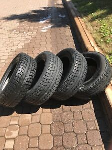 Michelin X-Ice winter tires 195/65/15.