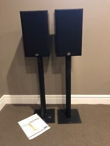 PSB century 300i speakers with stands