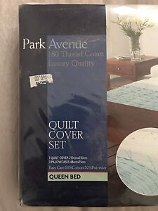 Quilt cover set and flat sheet Smithfield Parramatta Area Preview