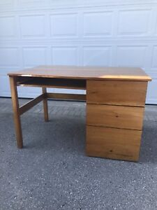 Handmade wooden desk in great condition