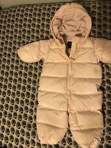 6-12 mos baby gap snowsuit