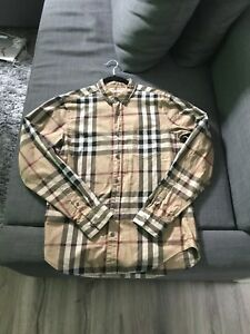 Burberry flannel