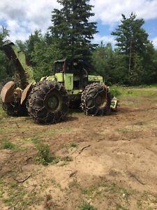 Timberjack debusqueuse Piece à vendre c7T tree farmer