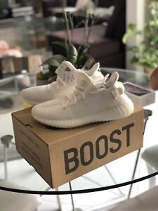 IN HAND BRAND NEW DS YEEZY BOOST 350 Size 9 Triple White