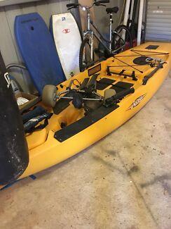 Hobie Pro Angler Kayaks Amp Paddle Gumtree Australia