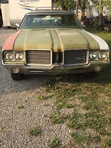 1971 vista cruiser  cutlass wagon