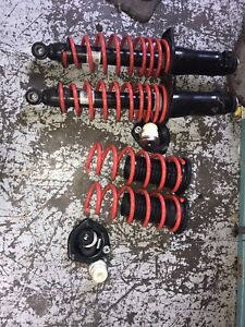 JDM Mazda RX8 Used Autoaxe Lower Springs Rear Shocks 2004-2008