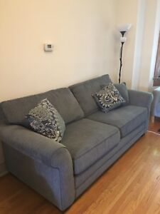 Large couch with 10 year warrantee