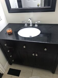 42 inch vanity for sale without taps