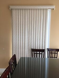 Vertical blinds perfect condition