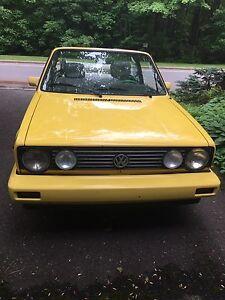 Cabrio VW 1990