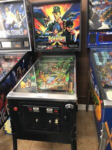 Special Force Bally Pinball Machine LED Sales Toronto