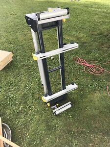Chop saw/ table saw stand