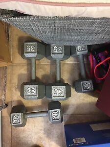 Two sets of Dumbbell
