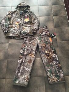New Hunting Camo Insulated Jacket & Pants Size 12 Ladies
