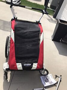Chariot bike trailer and stroller