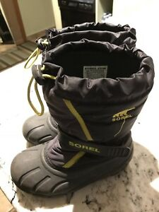 Sorel boy winter boots