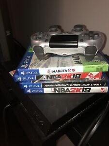 PS4 with games (NEGOTIABLE)