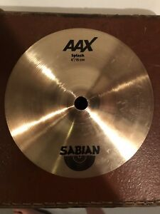 "Drum Stuff - Sabian 6"" AAX Splash Cymbal with Tama Stacker"